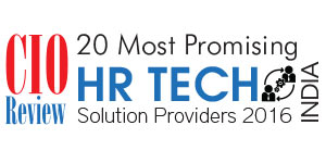 20 Most Promising HR Technology Solution Providers - 2016